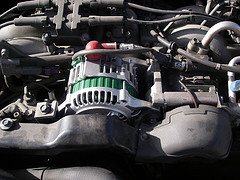 [Alternator photo by goodharbor. Used with permission.]